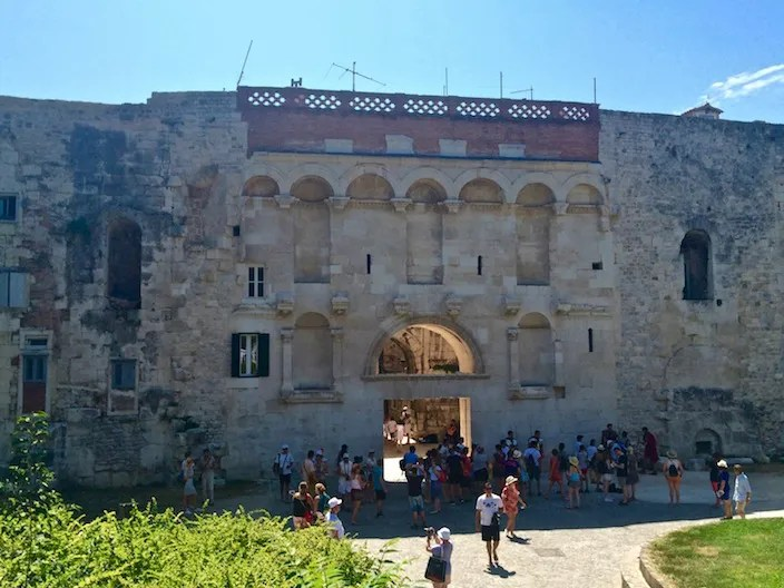 Diocletians Palace North Entrance