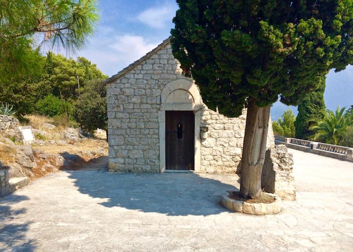 Marjan Hill St. Nicholas Chapel Split Croatia