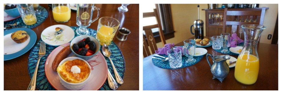 Hearty Breakfast at the Golden Leaf Inn Estes Park