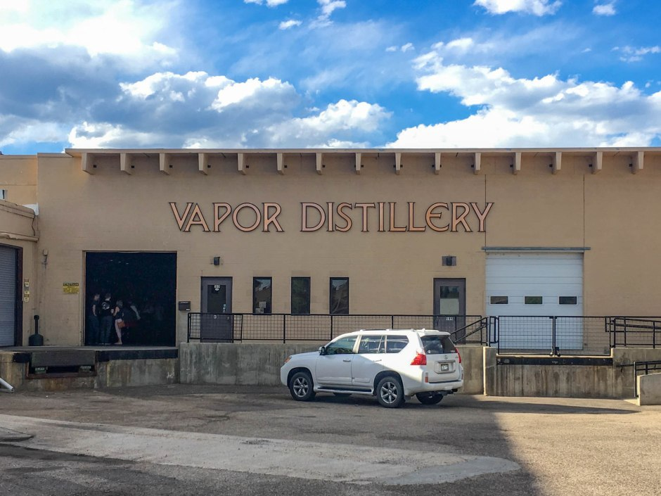 Vapor Distillery Boulder Colorado