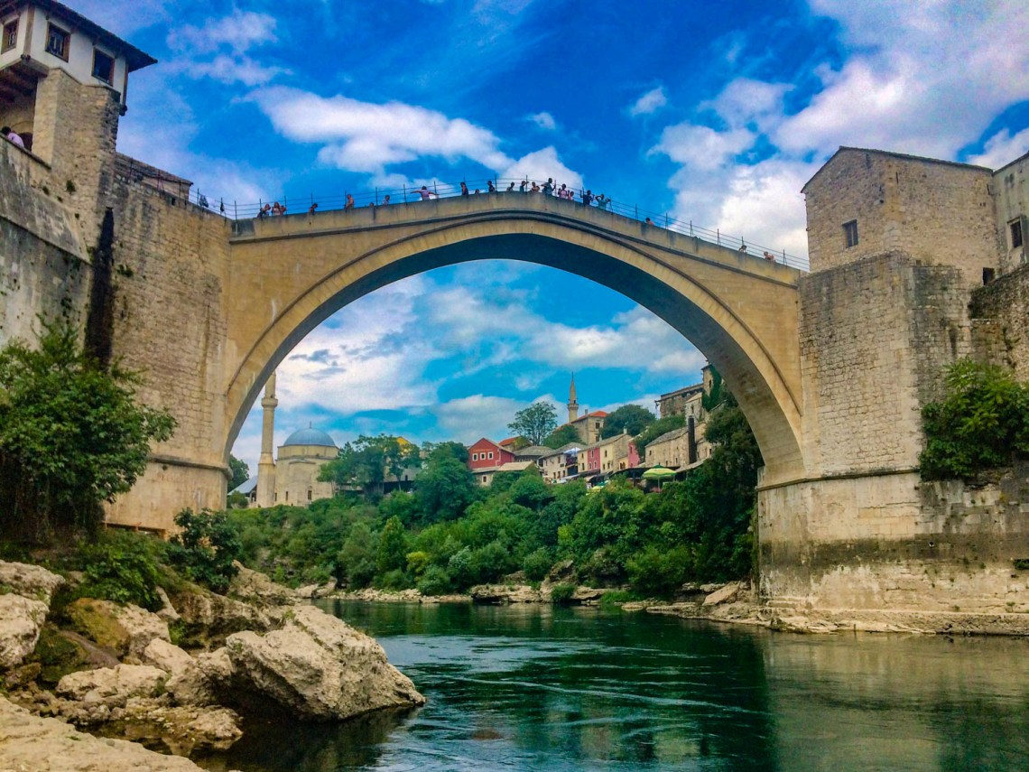 Mostar Bosnia and Herzegovina - Stari Most Old Bridge