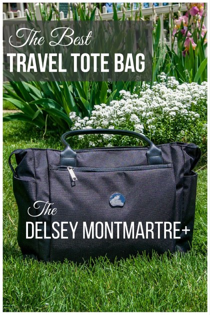 The Best Travel Tote Bag - DELSEY MONTMARTRE+ Personal Tote
