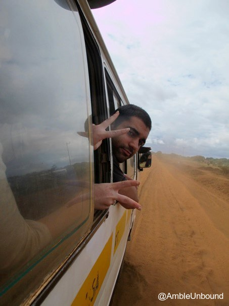 Amble Unbound - Stranded by a Bus in Kenya