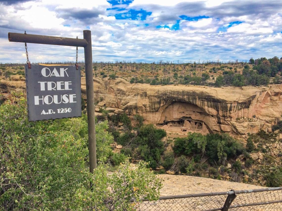 Oak Tree House - Mesa Verde National Park Colorado