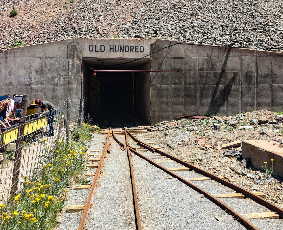 Old Hundred Gold Mine Tour - Silverton Colorado