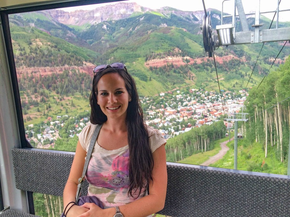 Riding the Scenic Gondola Telluride Colorado