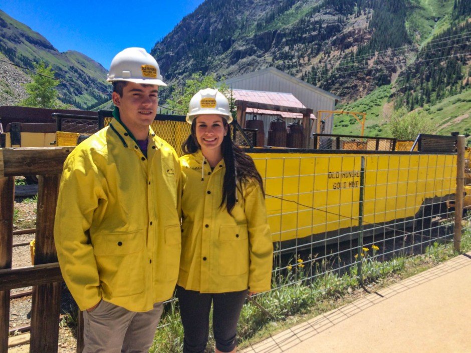 Silverton Colorado - Old Hundred Gold Mine Tour