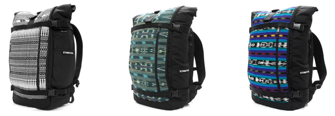 Ethnotek Backpack - 2017 Travel Gift Guide