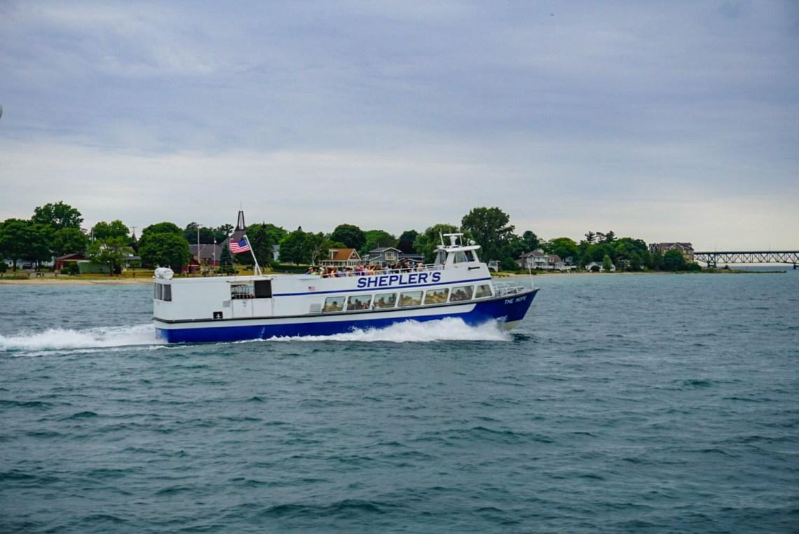 Sheplers Line Ferry - Mackinac Island Travel Guide
