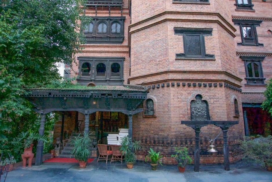 Kantipur Temple House Nepalese Architecture Thamel Kathmandu