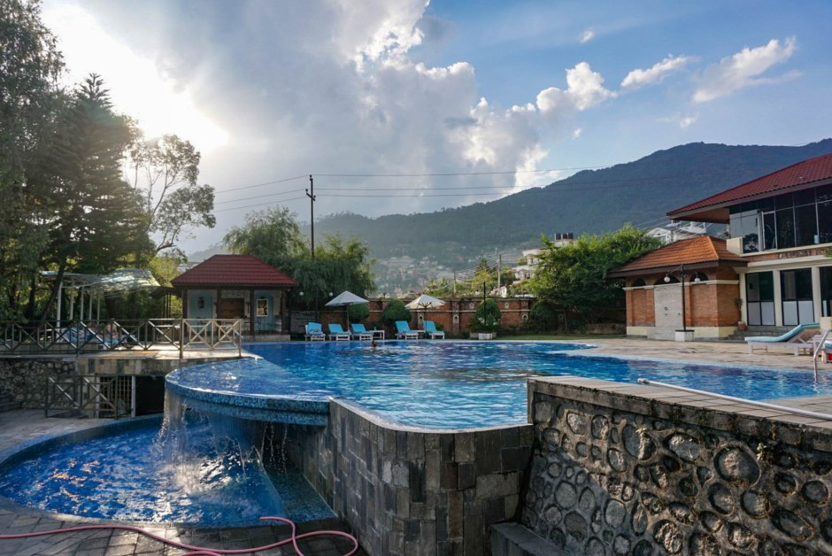 Park Village Resort Pool - Things to do in Kathmandu Nepal