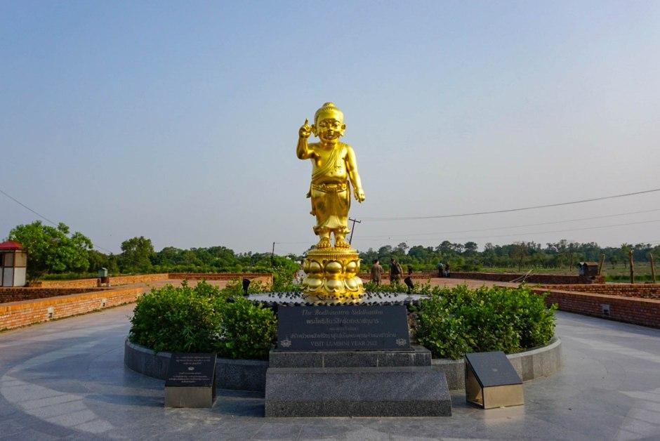 The Bodhisattva Siddhartha Lumbini Nepal