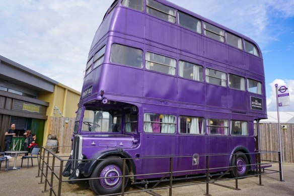 Knight Bus WB Studio Tour Harry Potter