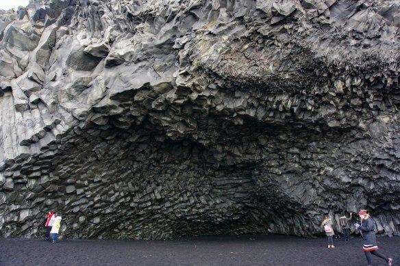 Reynisfjara Beach basalt columns - Day Trip Reykjavik to Vik