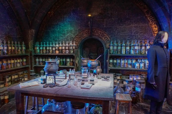 Snapes Potions Room The Making of Harry Potter