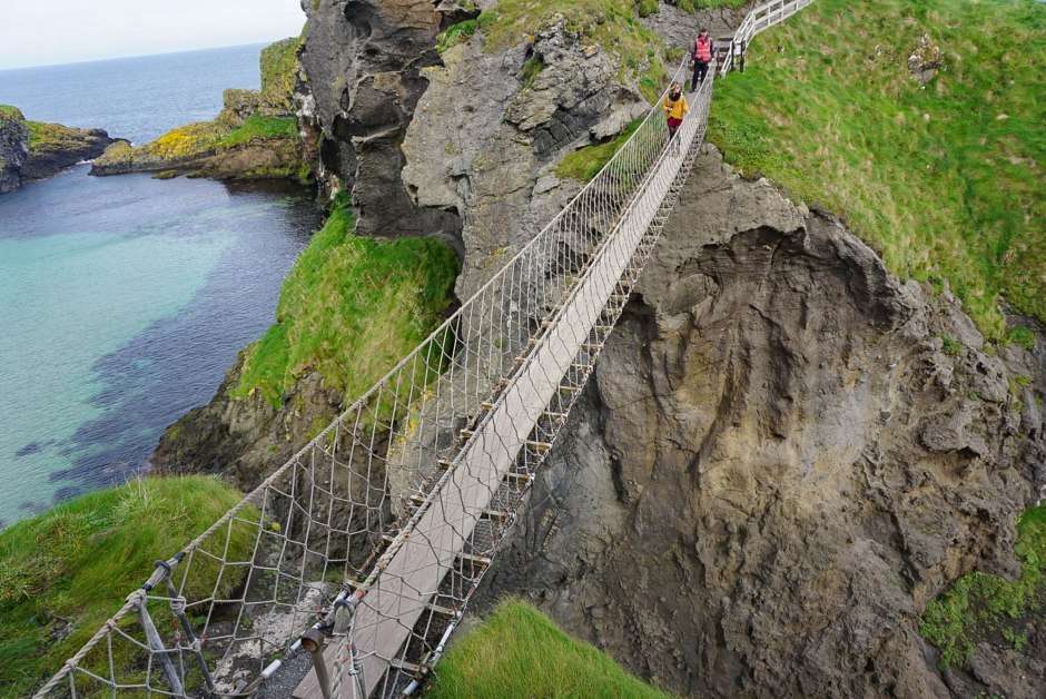 Carrick-a-Rede Rope Bridge Northern Ireland - Giant's Causeway Day Trip
