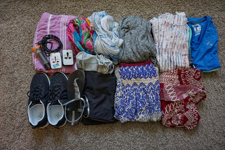 Female Packing List for Nepal