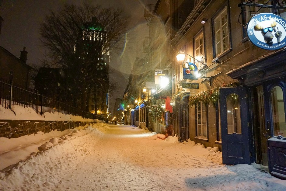 Old Quebec in Winter