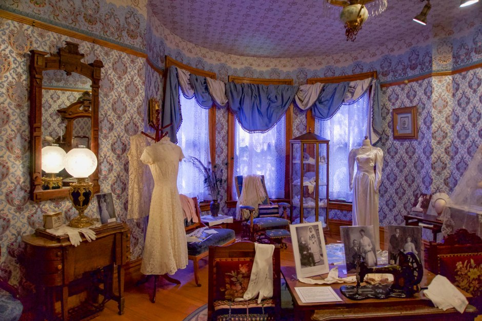 Ivinson Mansion Sewing Room - Wyoming Women