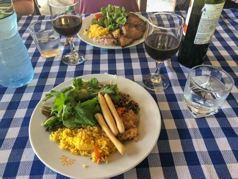 Lunch at Finca Marta Cuba Organic Farm