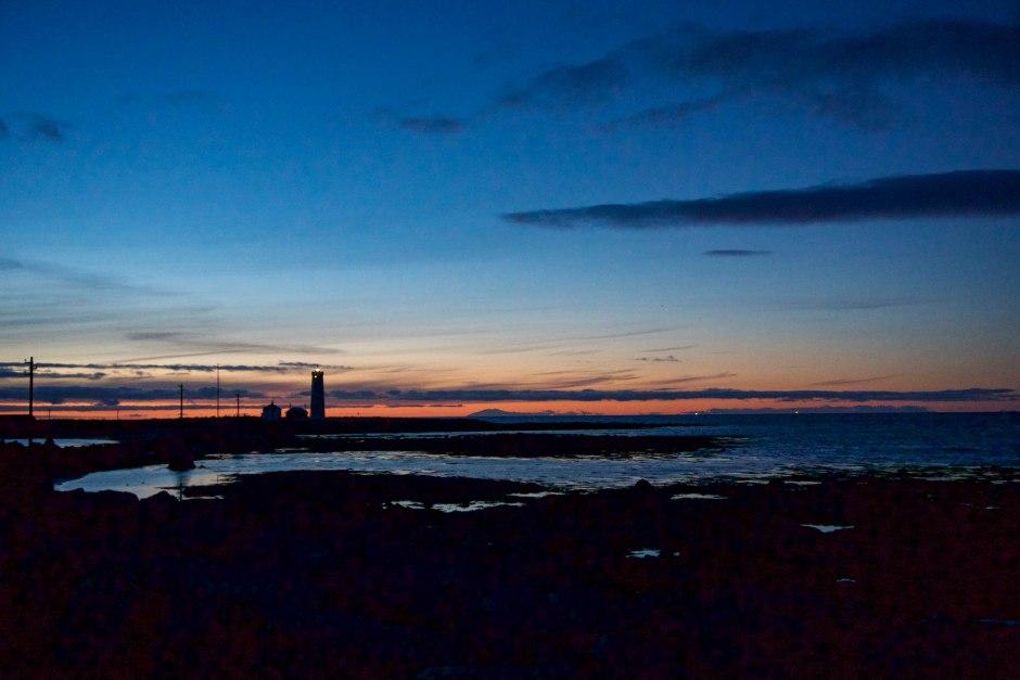 Grótta Lighthouse Reykjavik Iceland Stopover