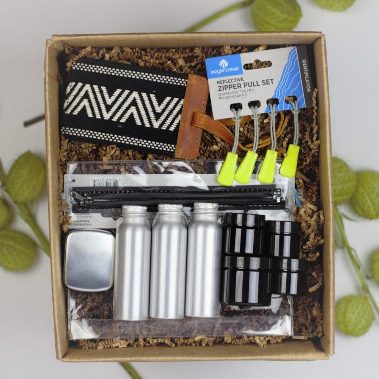Travel accessory gift box