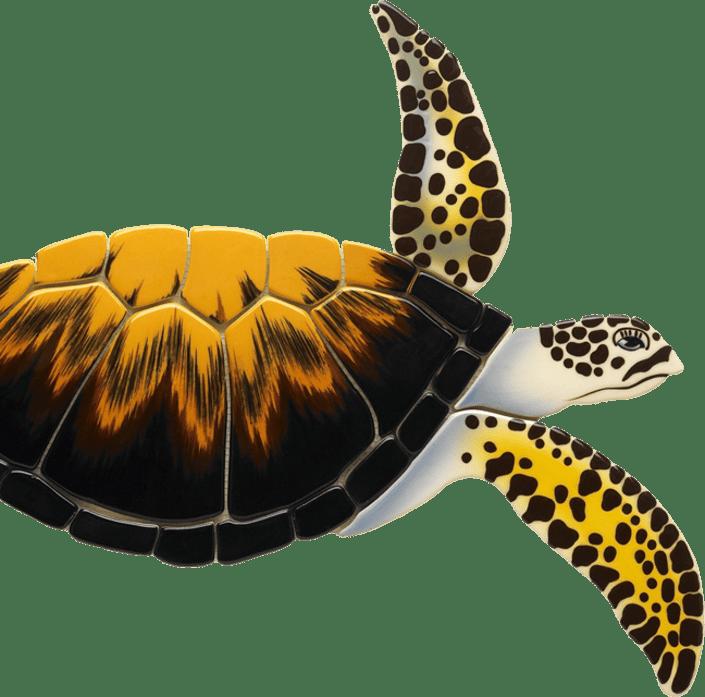 loggerhead turtle ceramic series