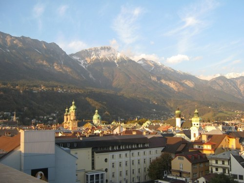 360° Ausblick über Innsbruck