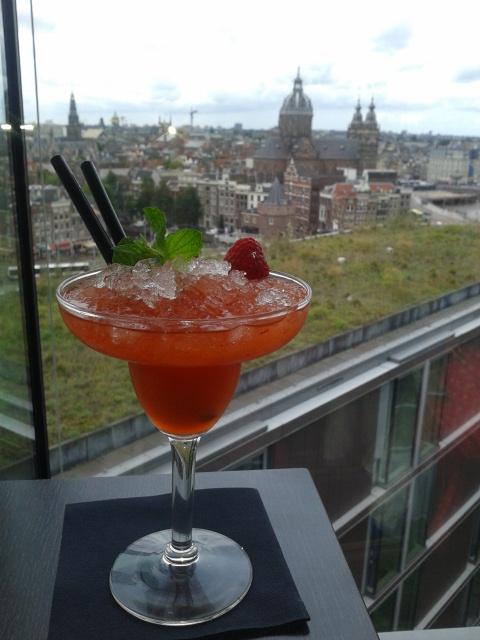 Überblick über Amsterdam: Sky Lounge