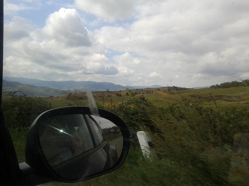 Auf dem Weg von Armenien nach Georgien 5