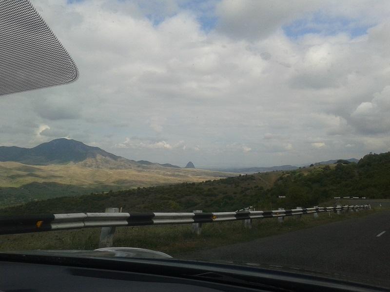 Auf dem Weg von Armenien nach Georgien 6
