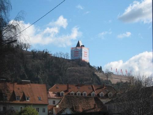 Spaziergang über den Dächern: Grazer Schlossberg