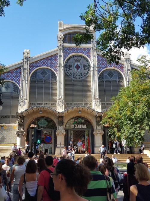 Markthalle in Valencia