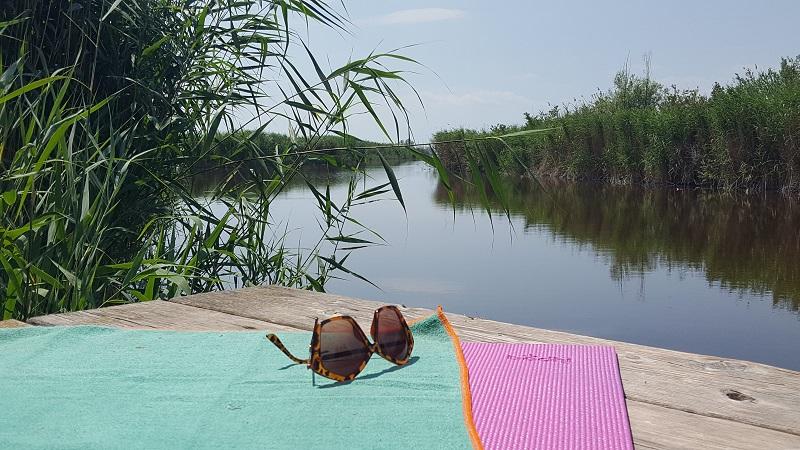 Yoga am und aufm Neusiedlersee: SUP Yoga