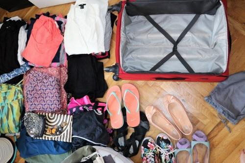 Mit welchem Gepäck reist du?