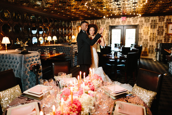 Old Hollywood Inspired Styled Shoot At The Barrymore