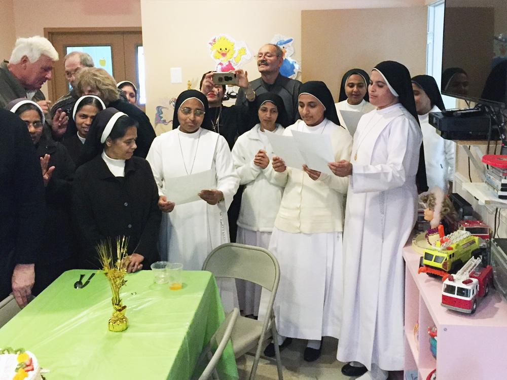 Carmelite Sisters Visiting