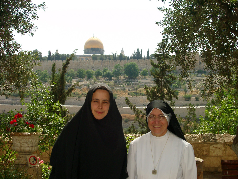 Mother Catherine and Sr. Licia