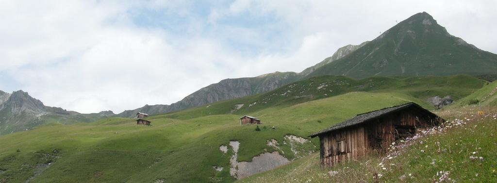 Swiss Alp Hut