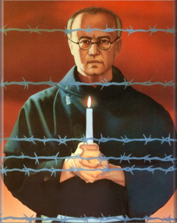 Image result for maximilian mary kolbe