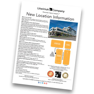 Litwiniuk Location FAQ