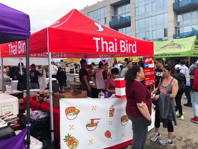 Thai Bird Stand