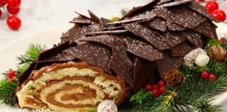 "Рождественское ""полено"" (Buche de Noël)"