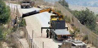 Израильские солдаты вовремя работ по удалению дерева.