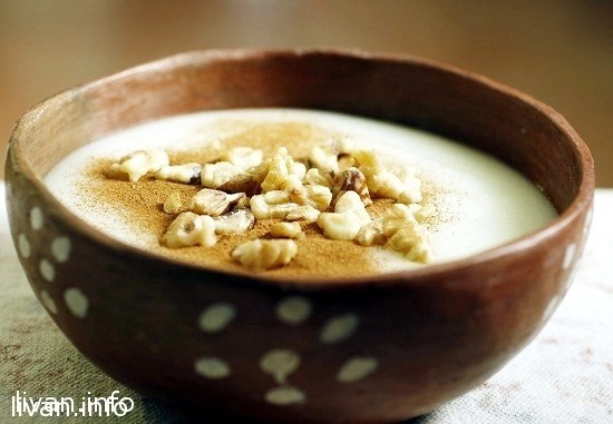 Сахляб (Sahlab) молочный десерт- напиток