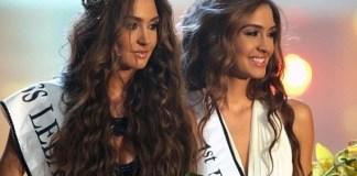 Мисс Ливан 2012 и вице мисс стали сестры-близнецы