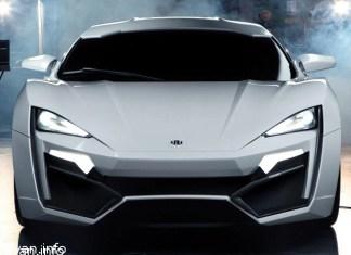 Lykan Hypersport Самая дорогая машина в мире