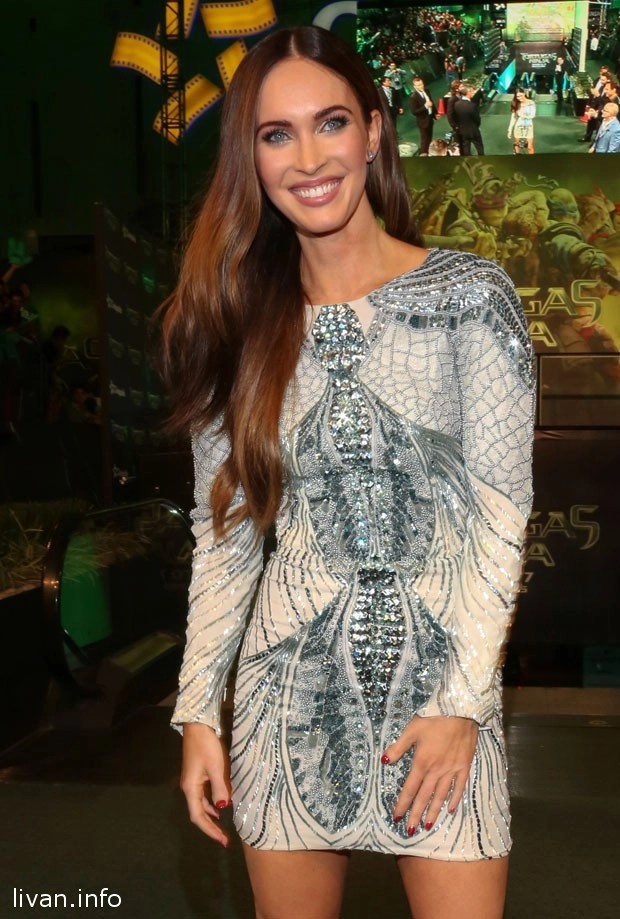 Меган Фокс в платье от ливанского дизайнера Зухаир Мурада
