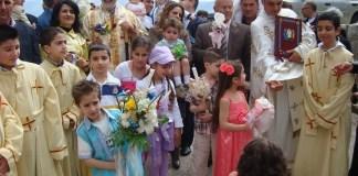 Вербное воскресенье в Ливане.