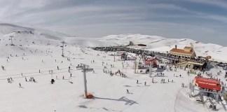 """Кфардебиане - горнолыжный курорт Ливана """"Видео"""""""